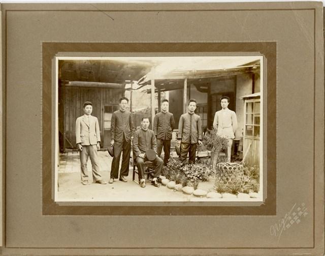 Group Photo of Men, Lukang