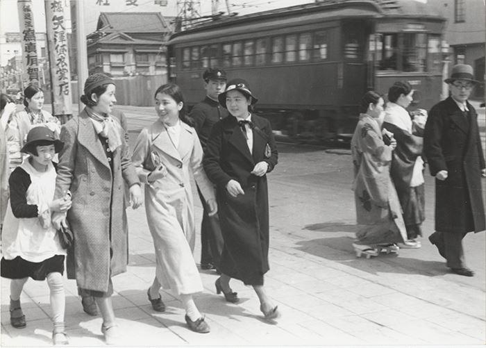 Japan 1935: Shimbashi, Tokyo
