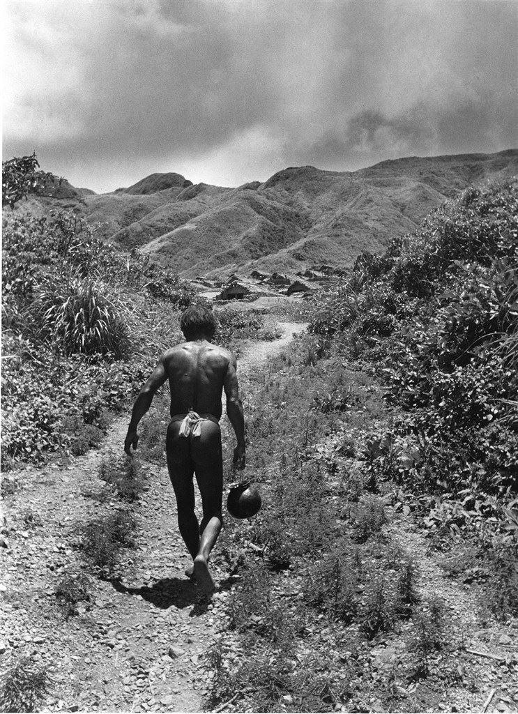 Yami (Tao) Man Fetching Water, 1945-1955