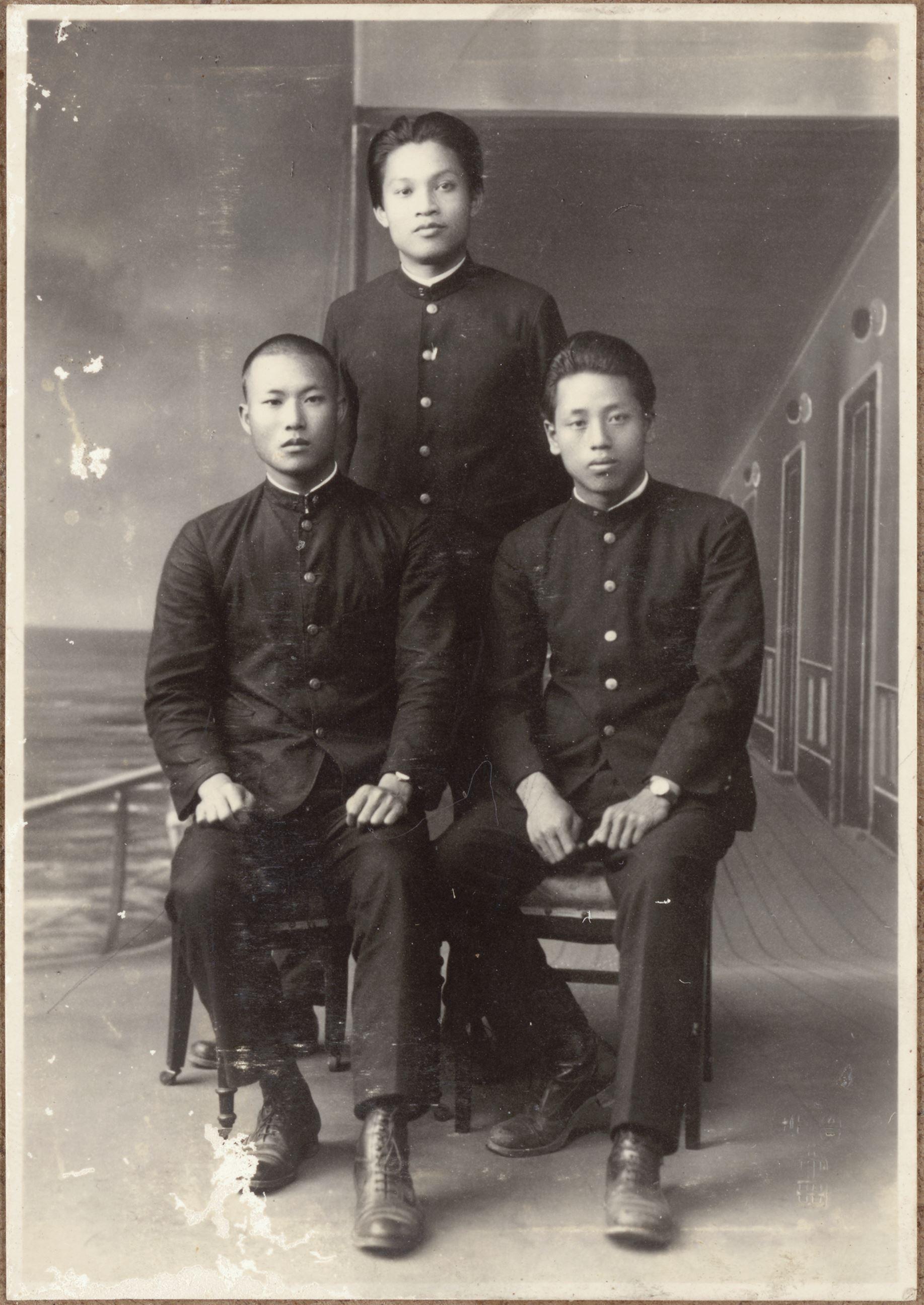 臺灣總督府臺北第二師範學校-學生照相簿 照片5