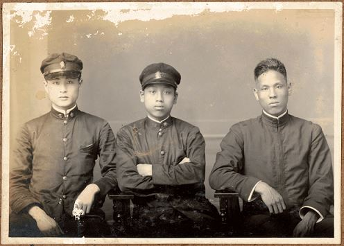 臺灣總督府臺北第二師範學校-學生照相簿 照片22