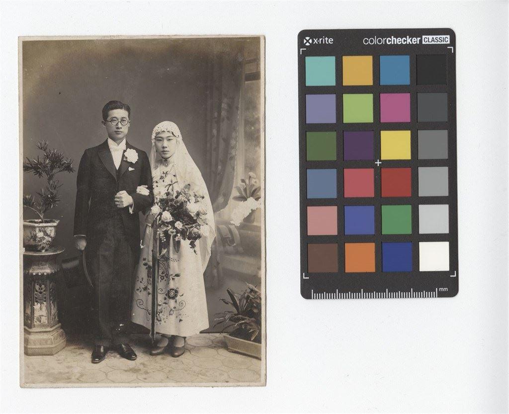 西式婚紗合影肖像