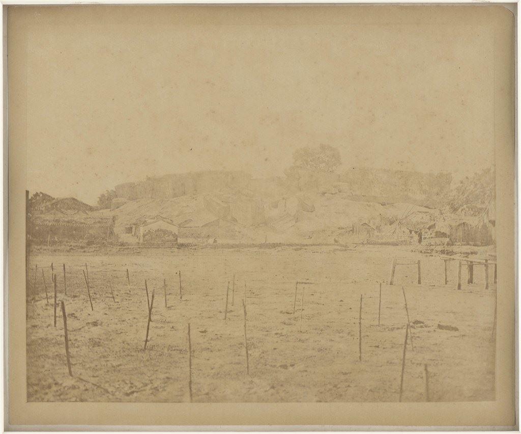 熱蘭遮城廢墟,安平 1869 St.