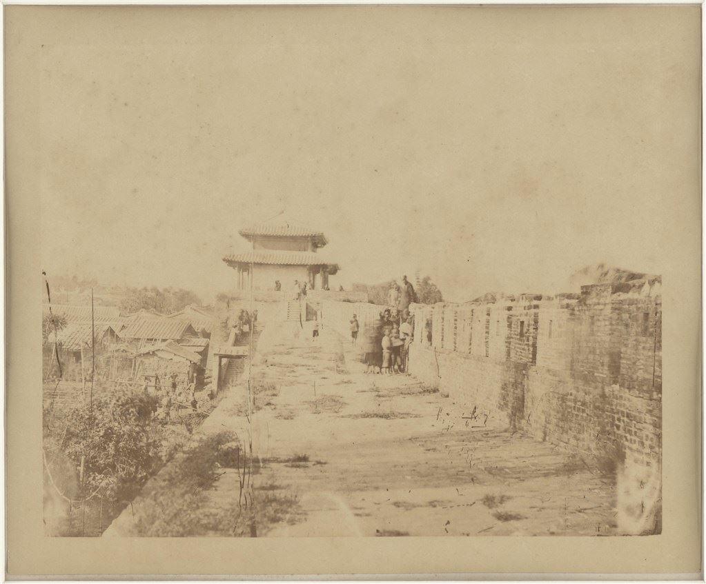 台灣府的漢人城堡,1869