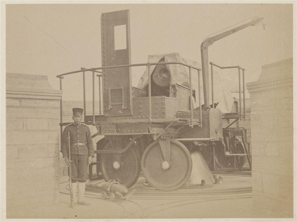 十九世紀蛋白版相紙(15):克虜伯砲臺