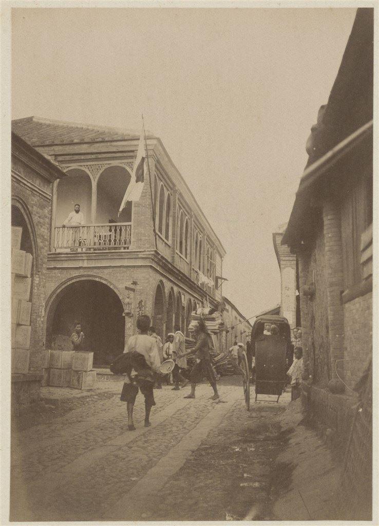十九世紀蛋白版相紙(21):大稻埕六館街