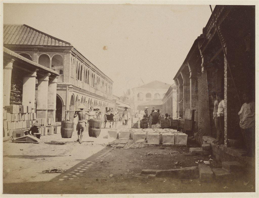 十九世紀蛋白版相紙(23):大稻埕六館街