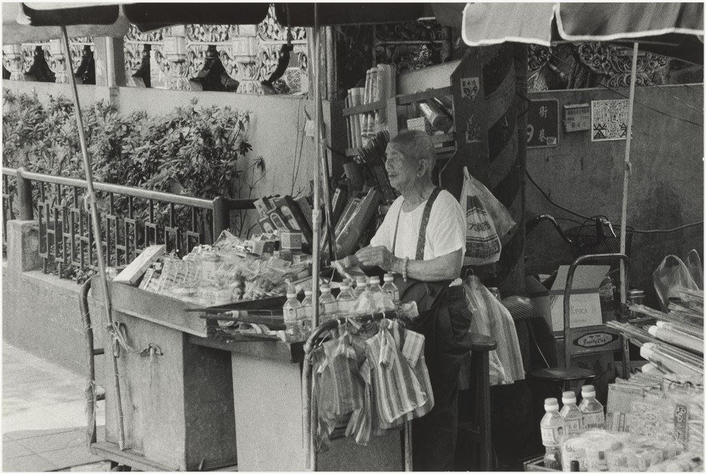 1992 盲人攤販